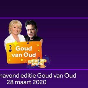 Artiestenavond editie Goud van Oud
