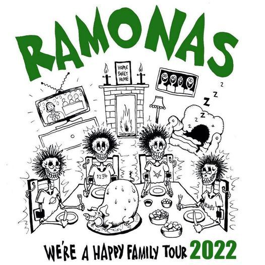 The Ramonas (UK) // Hamburg - Hafenklang, 14 September | Event in Hamburg | AllEvents.in