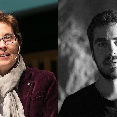 CCCB- Conferncia de Marta Segarra i dileg amb Gerard Ortn .