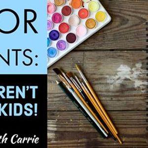 Senior Moments Crafts arent just for Kids