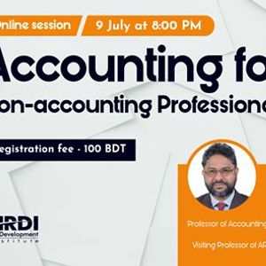 Online session on Accounting for Non-accounting Professionals