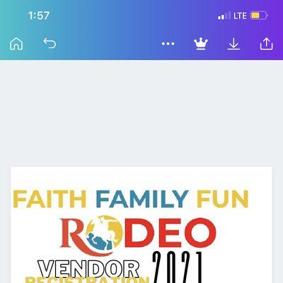 Faith Family Fun Rodeo VendorFood-Truck Registration