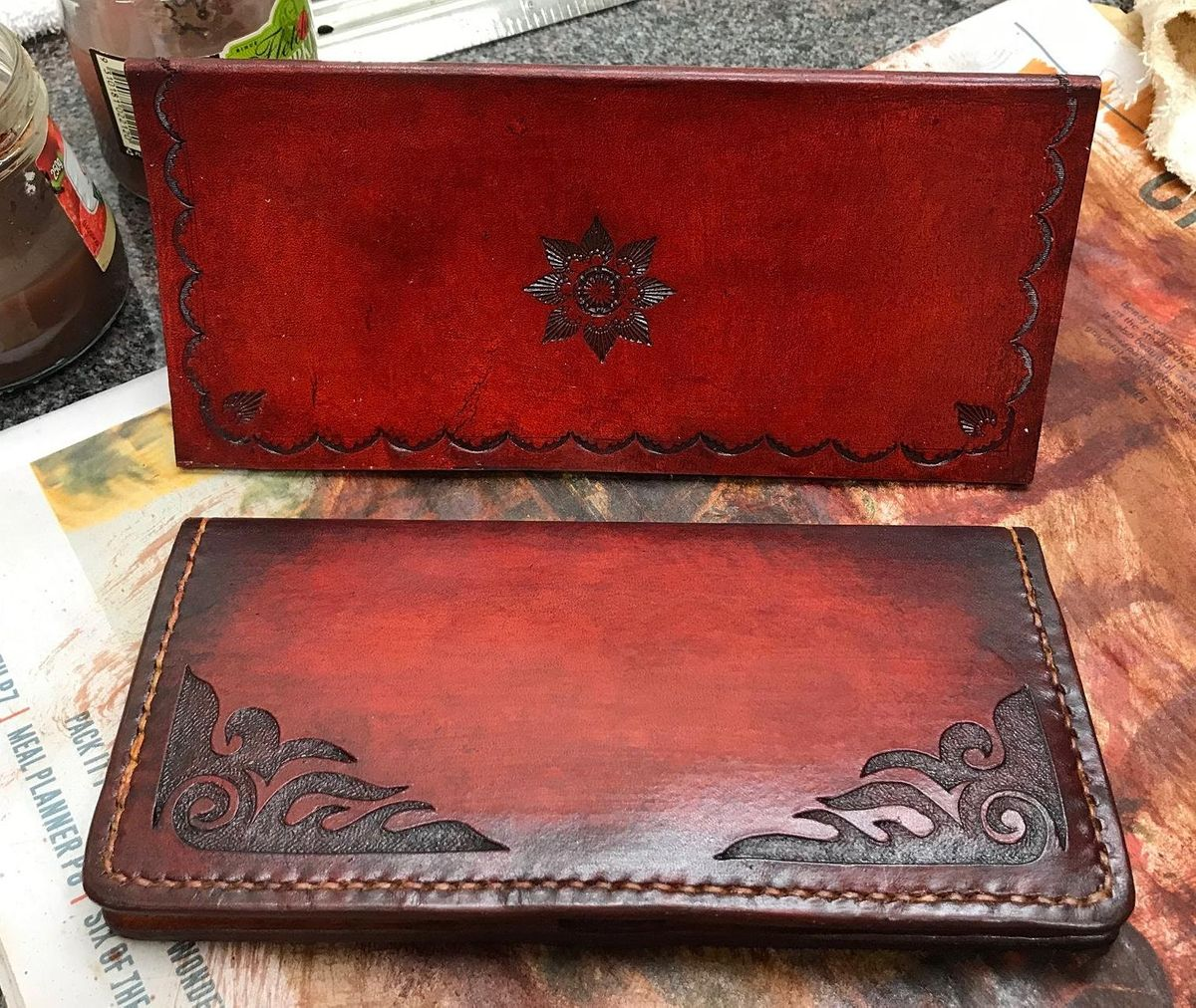 Leather Clutch Purse - Inverted Carving / Stamping, 14 January   Event in West Melbourne   AllEvents.in
