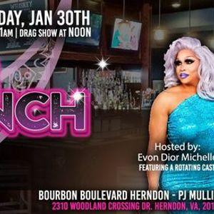 Drag Brunch on Bourbon Boulevard