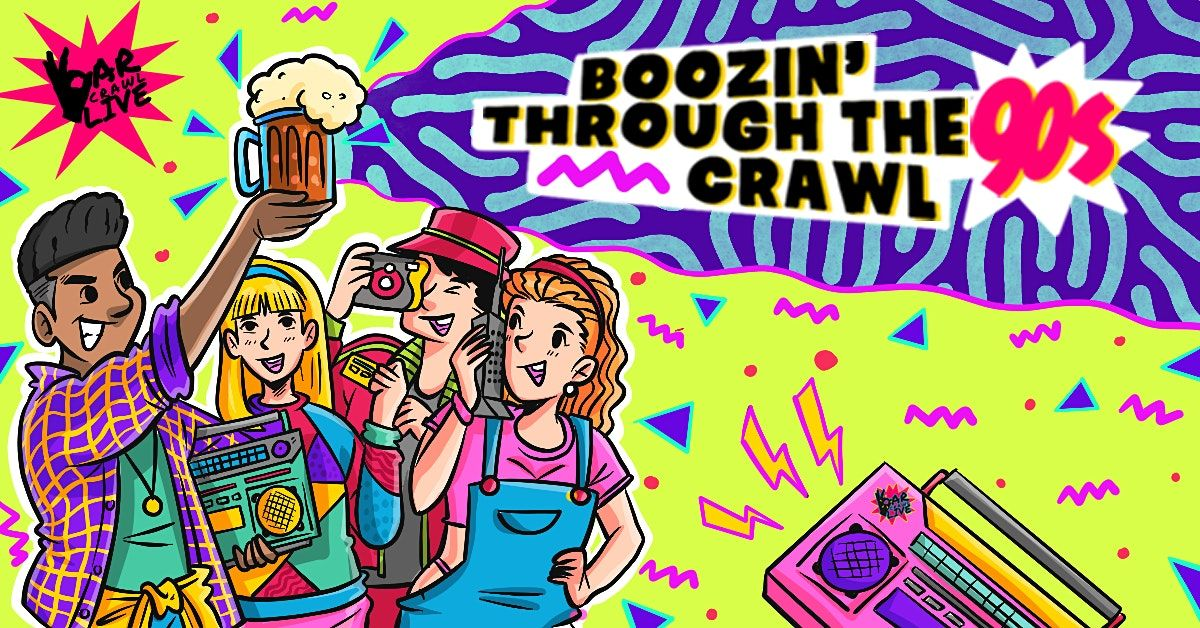 Boozin Through The 90s Bar Crawl  Norfolk VA