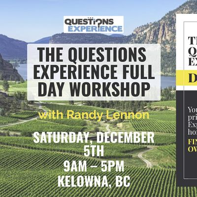 The Questions Live Coaching Experience Full Day Workshop Early Bird Ticket
