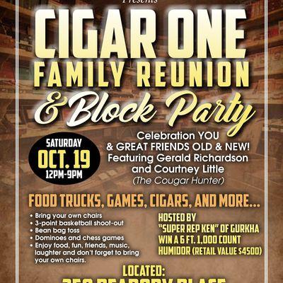 CIGAR ONE FAMILY REUNION