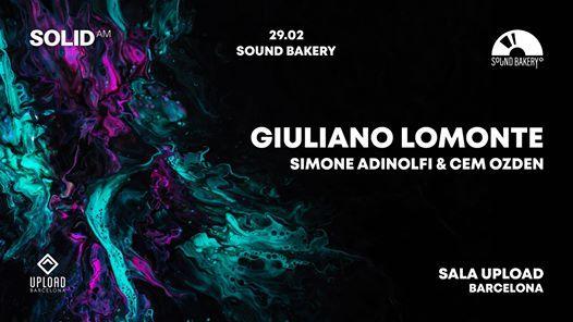 Sound Bakery 2 Giuliano Lomonte  Simone Adinolfi & Cem Ozden
