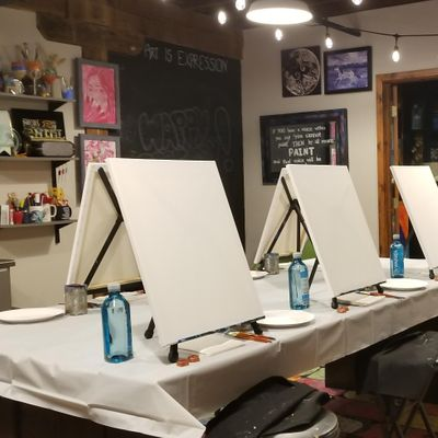 Book A Private Group Paint Event