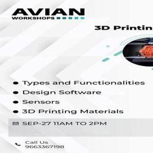 Online Workshop on 3D Printing Basics