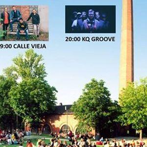 Puistokonsertit Second Thoughts Calle Vieja ja KQ Groove