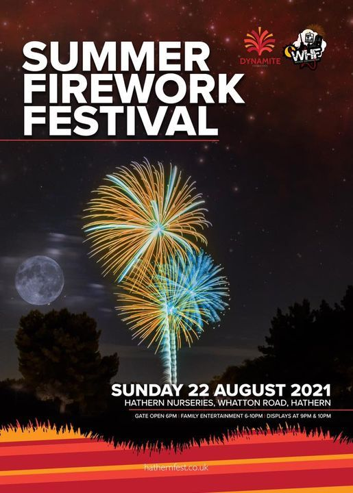 Hathern Summer Fireworks Festival, 22 August   Event in Loughborough   AllEvents.in