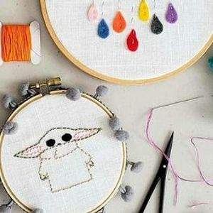 Intro to Embroidery-all ages-outdoor class
