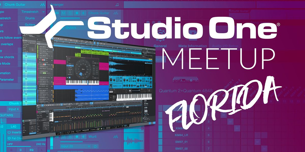 Studio One E-Meetup - Florida | Online Event | AllEvents.in