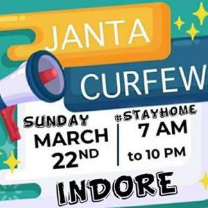Janta Curfew StayHome IndiaFightsCorona