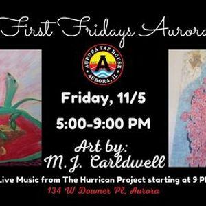 First Fridays Aurora  Featured Artist M.J. Carldwell