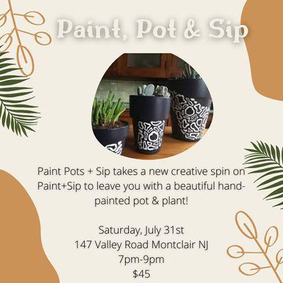 Mind Your Beads & Seeds Paint Pots & Sip