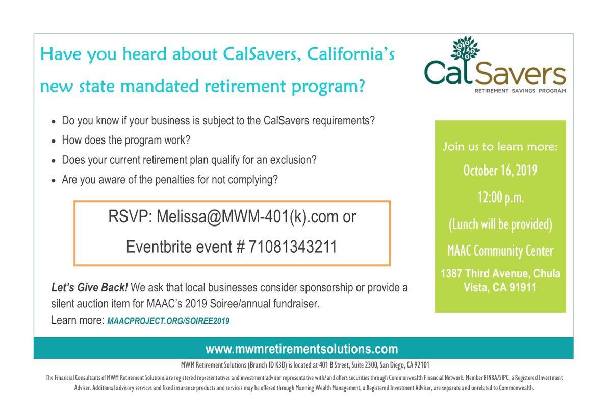CalSavers-Understanding the Program and the Alternative