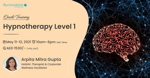 Onsite Training: Hypnotherapy Level 1 | Event in Dubai | AllEvents.in