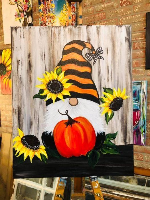Fall Gnome Paint & Sip Party, 23 September | Event in Morris | AllEvents.in