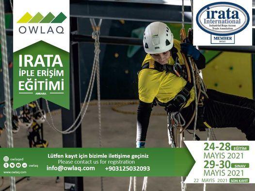 24 - 28 Mayıs 2021 OWLAQ IRATA İple Erişim Eğitimi (ANKARA), 24 May | Event in Ankara | AllEvents.in