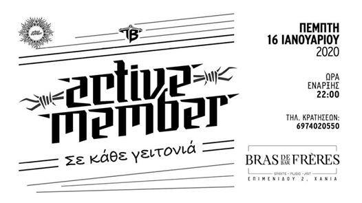 - Active Member Live -    -  16.01.2020