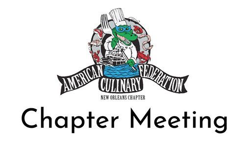 Monthly Chapter Meetings