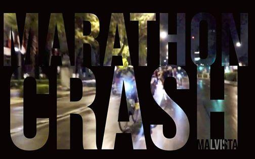 Marathon crash race Mxico 2019