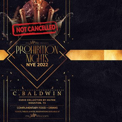 Prohibition Nights  New Years Eve 2022 (Houston TX)