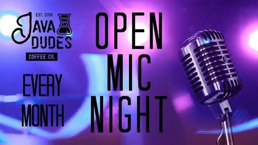 Open Mic Night at Java Dudes Coffee Co., 11 December | Event in Rogers | AllEvents.in