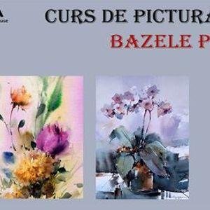 CURS DE PICTURA IN ACUARELA PENTRU INCEPATORI