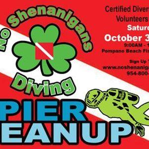 Clover Clean-Up  Pompano Beach Pier
