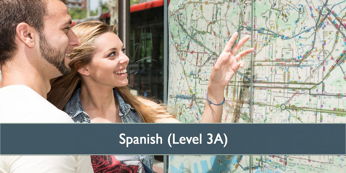 Spanish Level 3(A) - January 2021 | Online Event | AllEvents.in