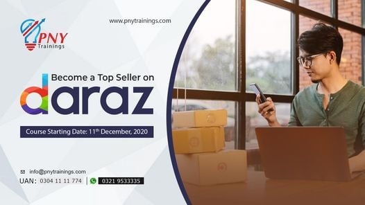 Become a Top Seller on Daraz (Johar Town), 11 December | Event in Lahore | AllEvents.in