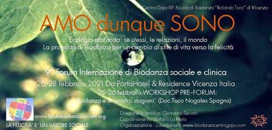 Amo dunque sono! 9°Forum Int.le di Biodanza sociale e clinica, 25 February | Event in Vicenza | AllEvents.in