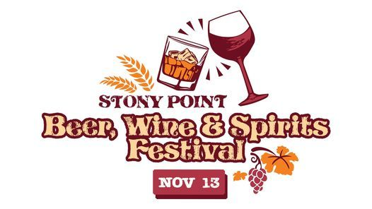 Stony Point Wine, Beer, & Spirits Festival, 13 November   Event in Laurel   AllEvents.in