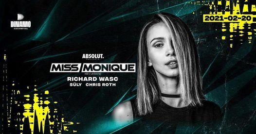 Miss Monique ❚ 2021/05/22 ❚ Dinamo, 22 May | Event in Gyor | AllEvents.in