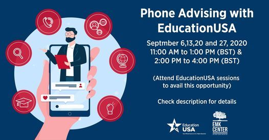 Phone Advising with EducationUSA