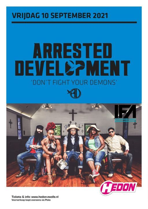 Arrested Development, 10 September | Event in Zwolle | AllEvents.in