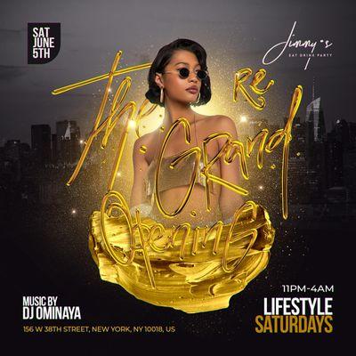 Lifestyle Saturdays At jimmys  nyc