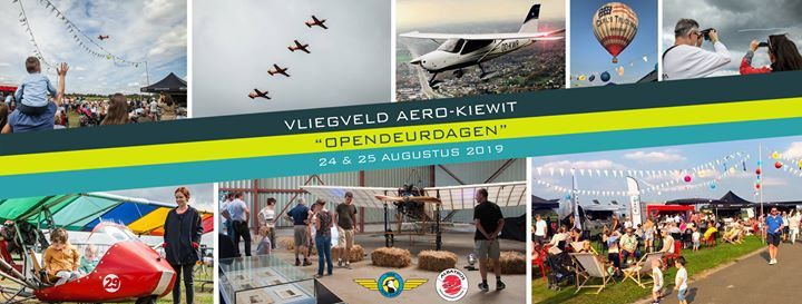 Opendeurdagen vliegveld Kiewit