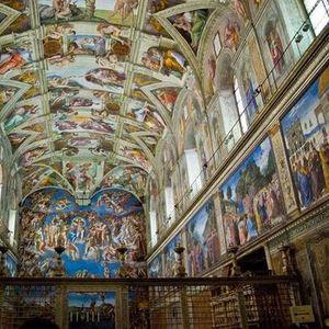 Musei Vaticani Cappella Sistina senza fila sabato1710 ore 1500