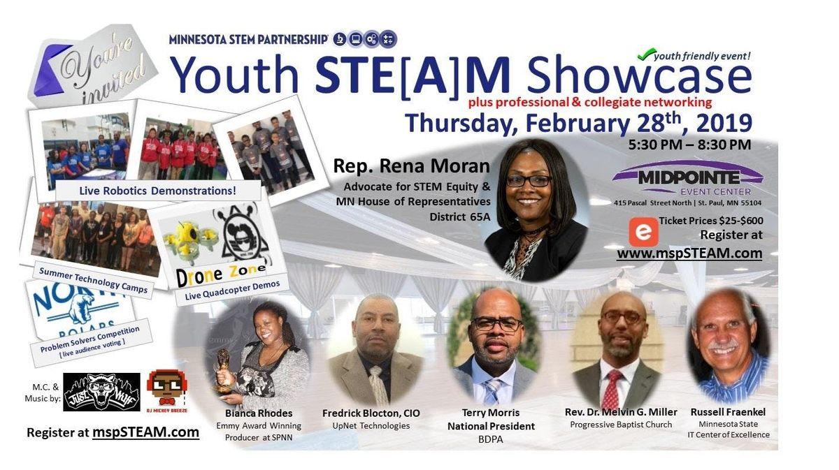 Youth STE[A]M Showcase & Celebration [Minnesota STEM Partnership] 2020