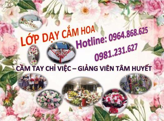 Lớp đào tạo kỹ thuật cắm hoa tươi cơ bản - nâng cao | Event in Hanoi | AllEvents.in