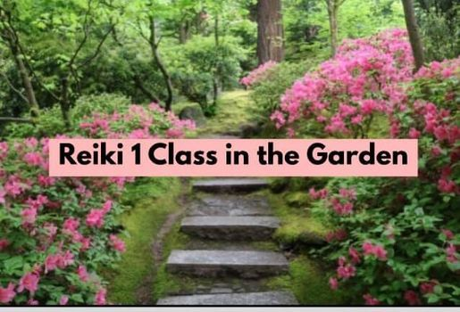 Reiki Level 1 Certification Class in the Garden, 7 August   Event in Northville   AllEvents.in