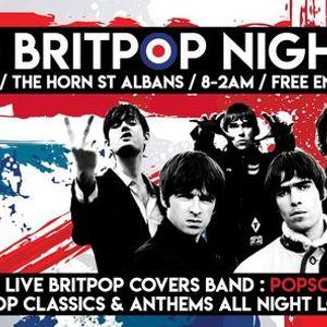 90s Britpop Night  The Horn St Albans