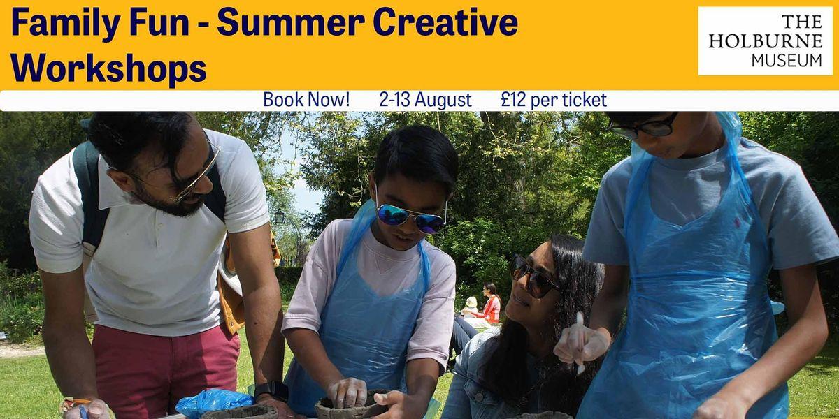 Family Fun  Summer Creative Workshops- Fantasy Georgian Pleasure Gardens, 11 August | Event in Bathwick | AllEvents.in