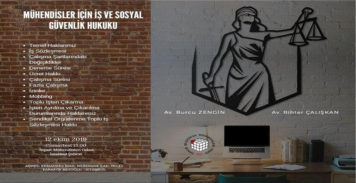 Mhendisler in  Ve Sosyal Gvenlik Hukuku