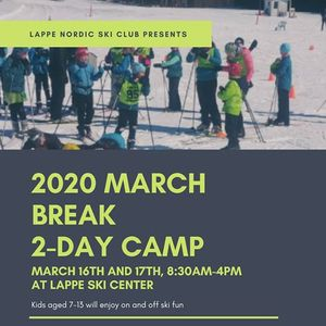 March Break 2-Day Kids Camp