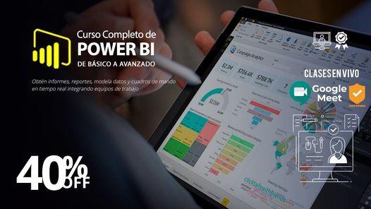 Curso completo de Power BI (Curso en Vivo)
